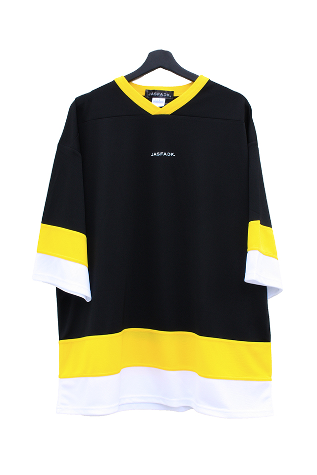 Logo Hockey Tee (JFK-021)-Black-front