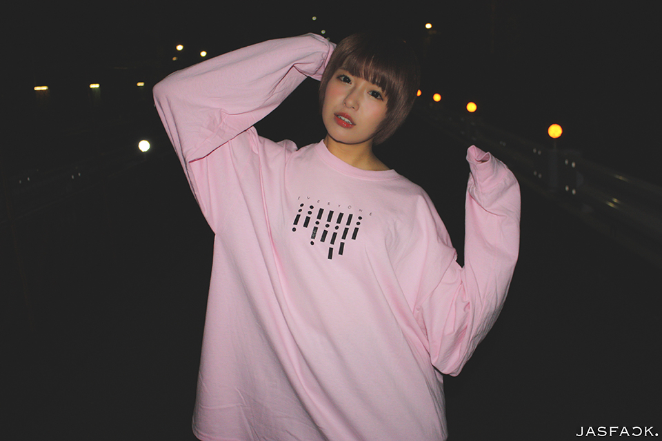 Segnale Long Sleeve Tee (JFK-019) - Pink-2