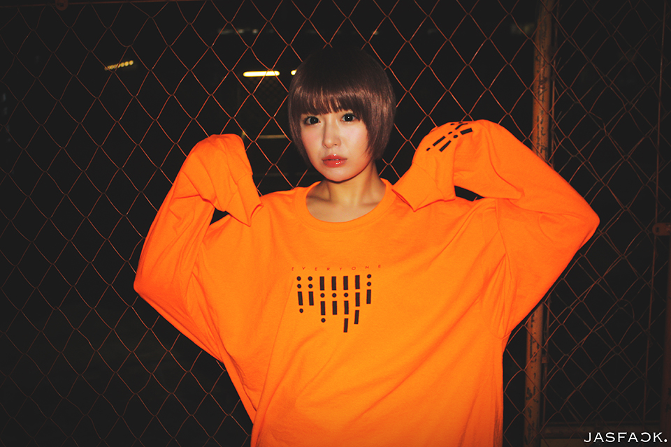 Segnale Long Sleeve Tee (JFK-019) - Orange-1
