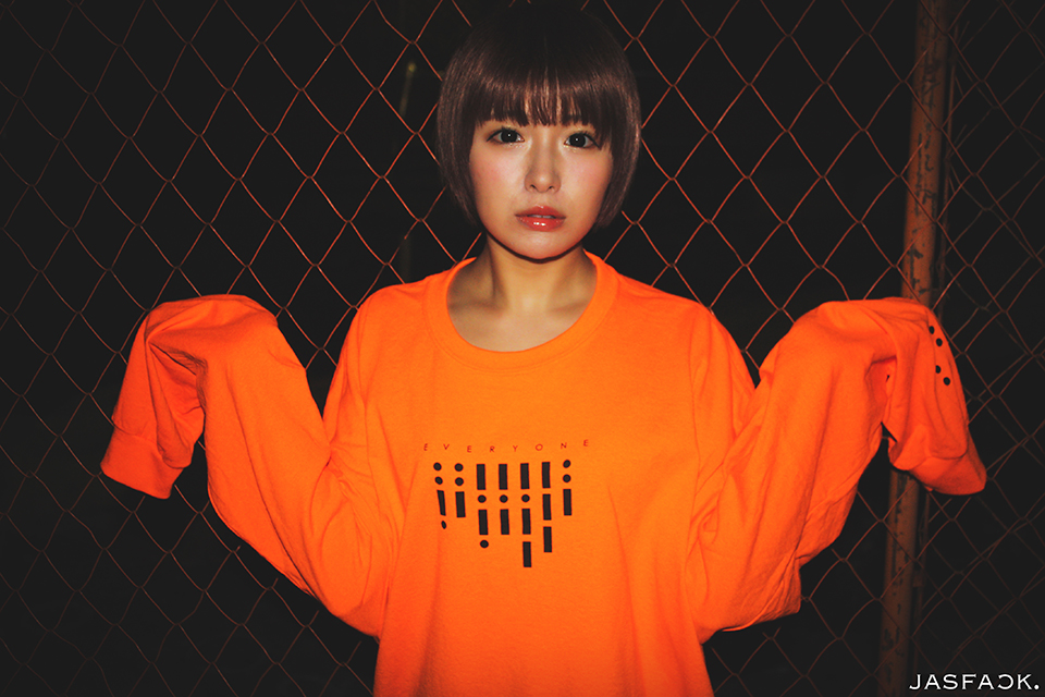Segnale Long Sleeve Tee (JFK-019) - Orange-2