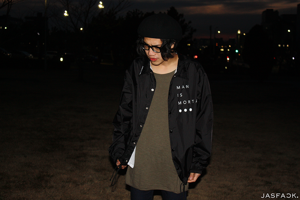 Mortal Coach Jacket (JFK-020)-model-3