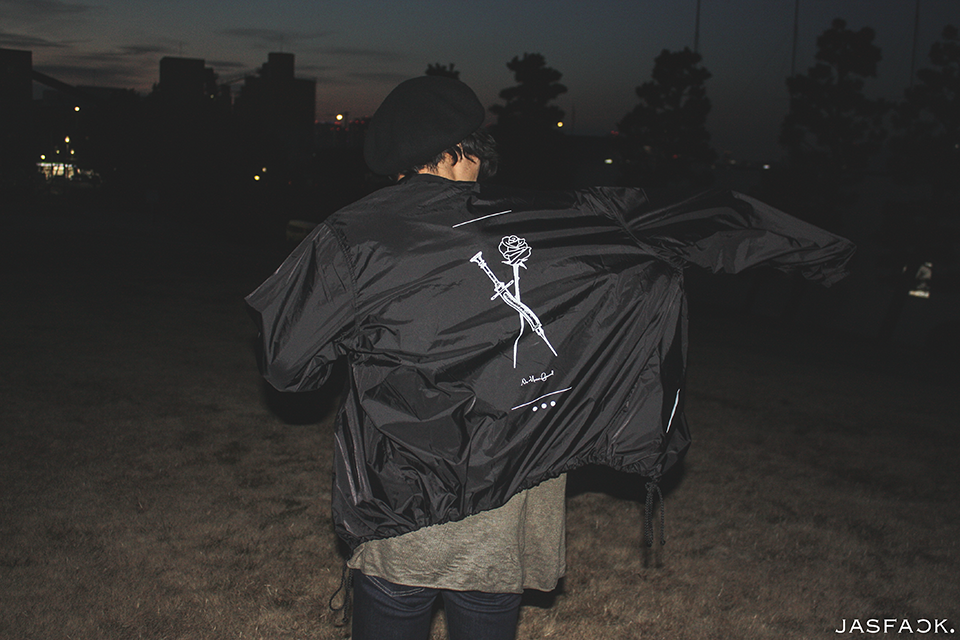 Mortal Coach Jacket (JFK-020)-model-4